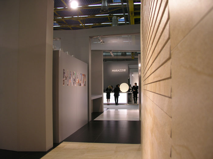 cersaie 2010 for marazzi group uainot. Black Bedroom Furniture Sets. Home Design Ideas