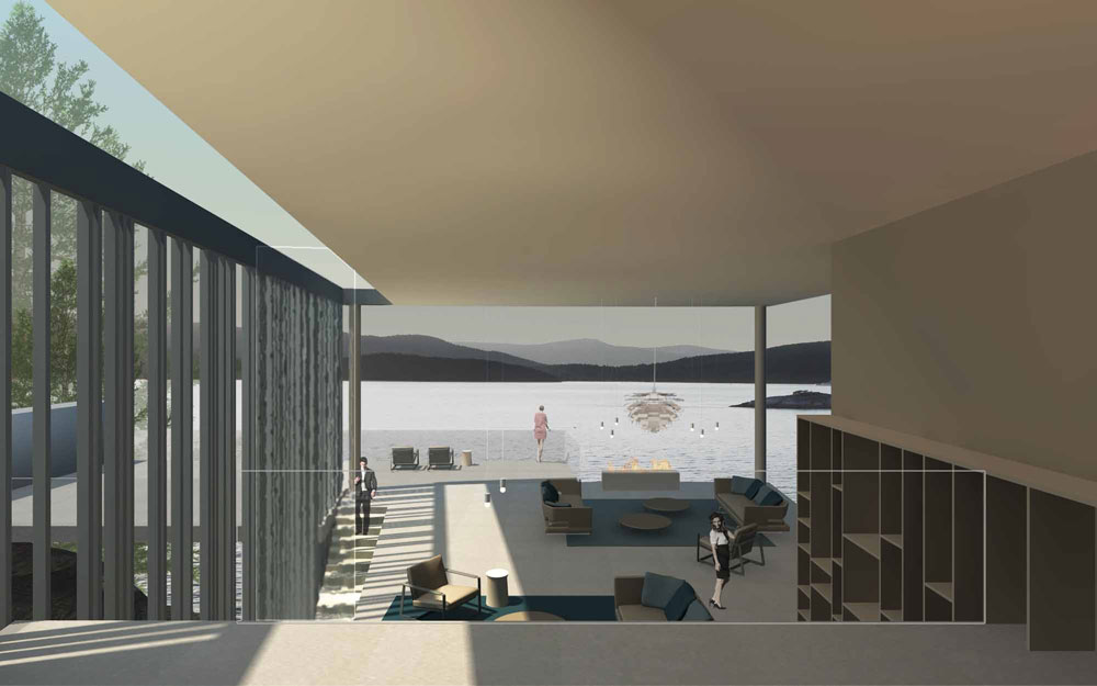 Landscape residence in vancouver ca uainot for Interior design show vancouver 2016