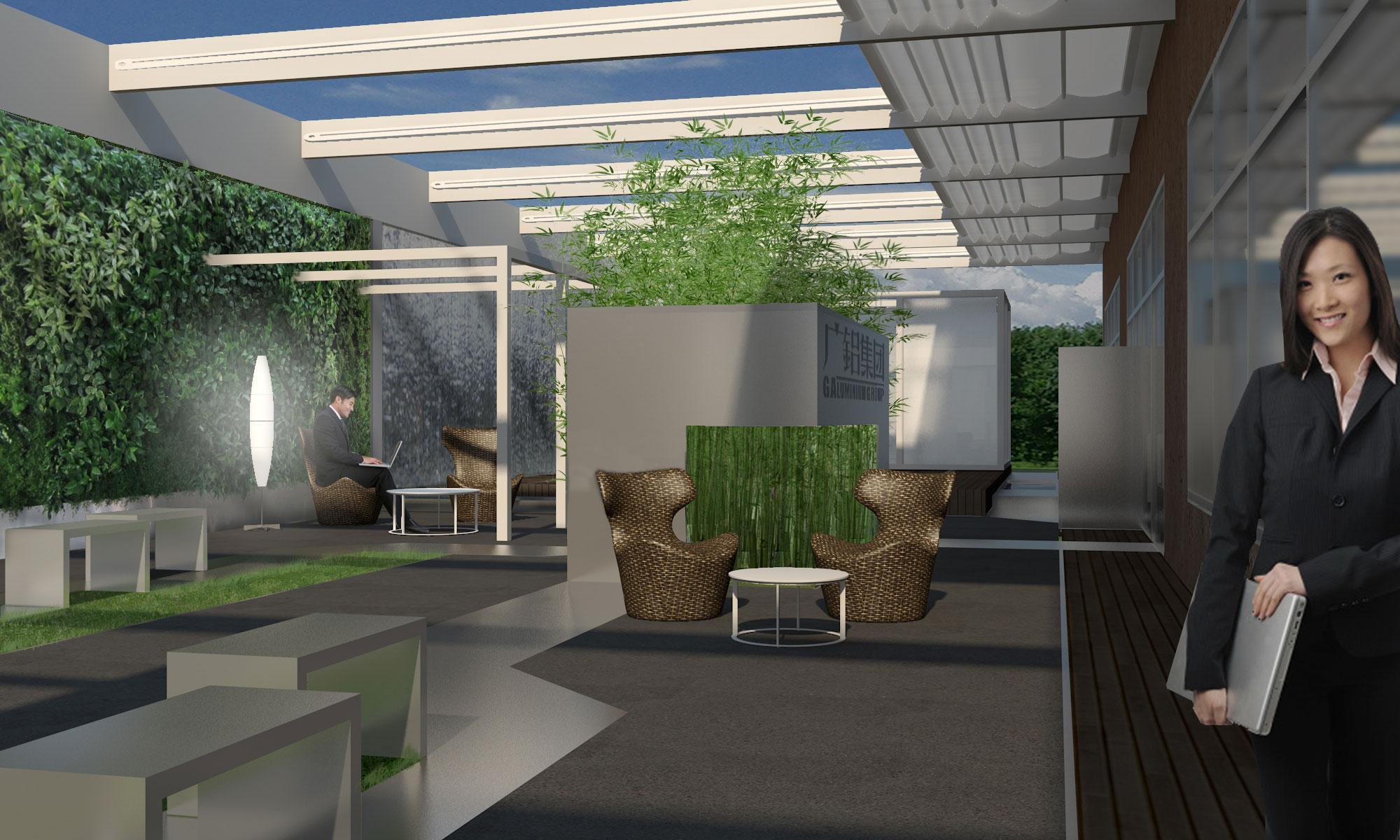 g aluminum showroom in guangzhou cn uainot. Black Bedroom Furniture Sets. Home Design Ideas