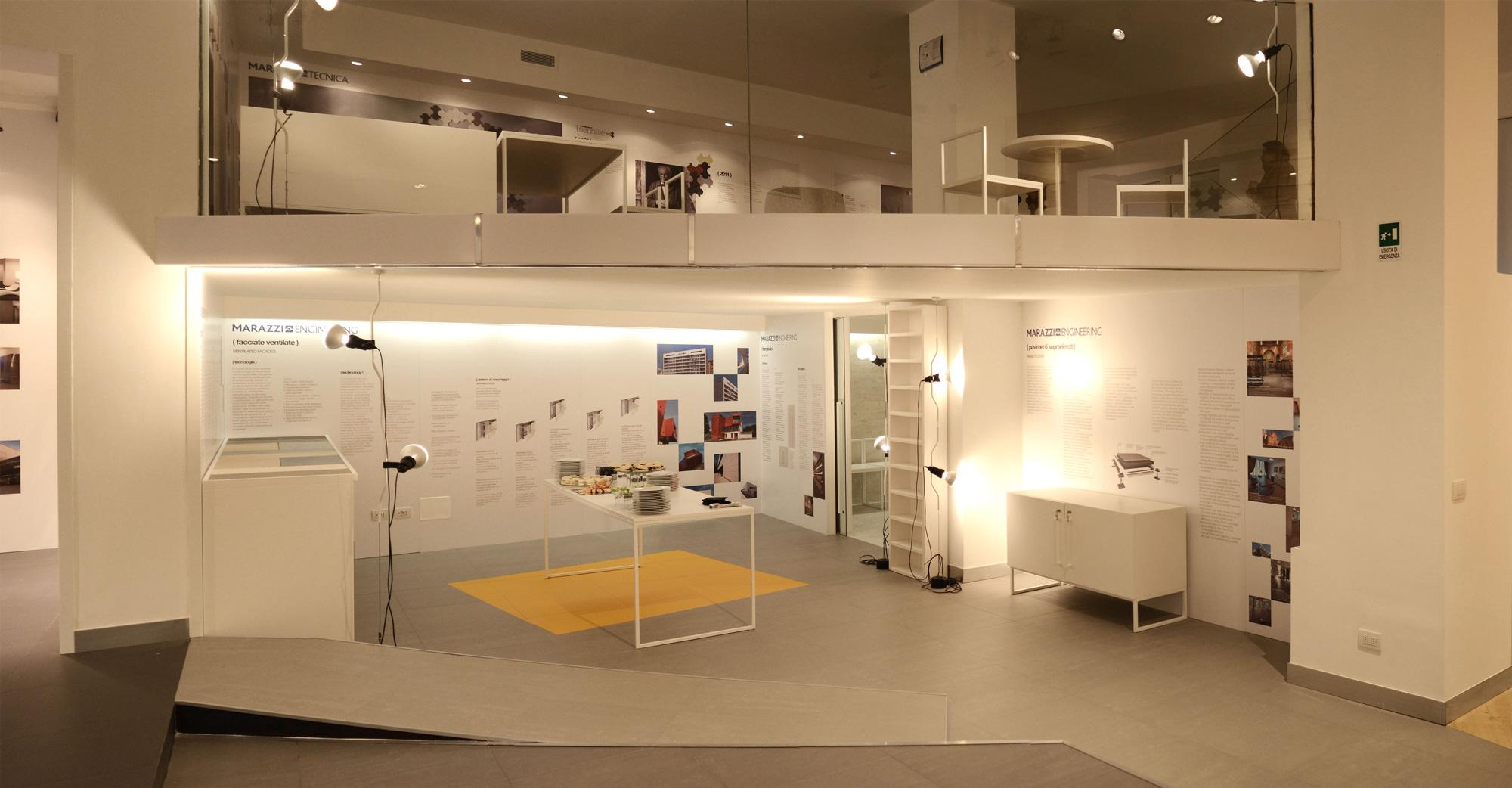 marazzi showroom in milan it uainot. Black Bedroom Furniture Sets. Home Design Ideas