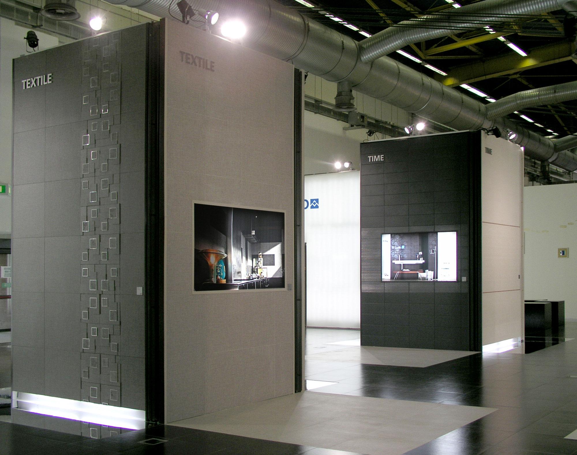 cersaie 2009 for marazzi group uainot. Black Bedroom Furniture Sets. Home Design Ideas