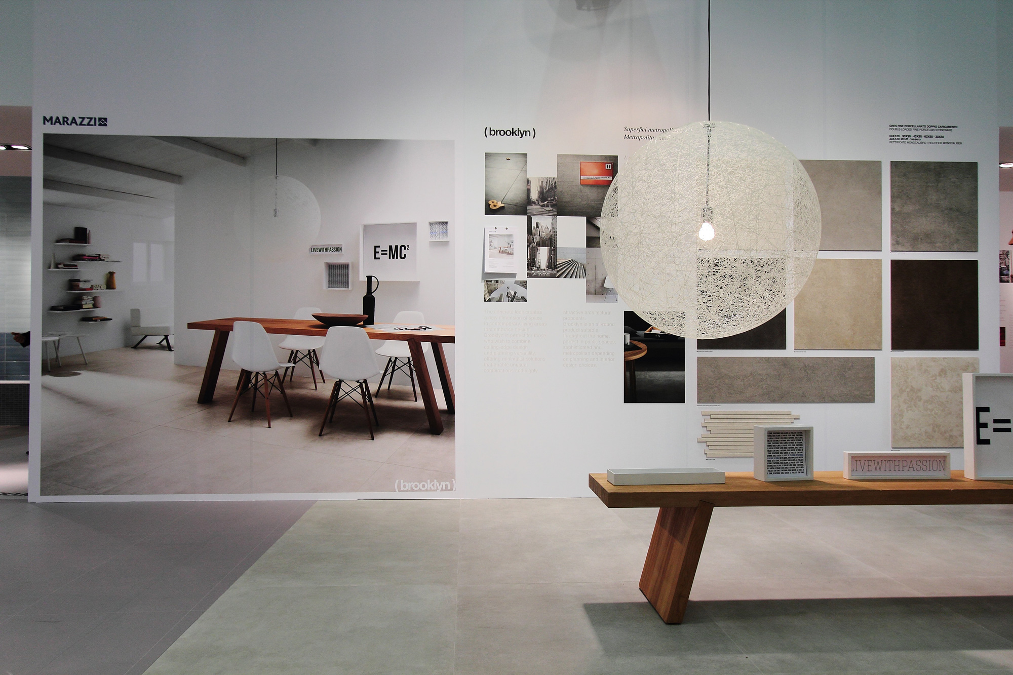cersaie 2012 for marazzi group uainot. Black Bedroom Furniture Sets. Home Design Ideas