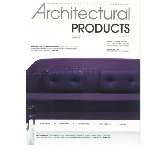 2011 – Architectural Products