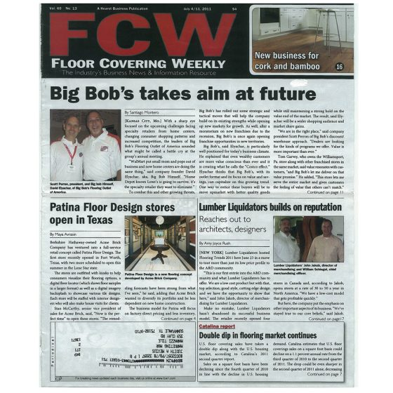 2011 – Floor Covering Weekly