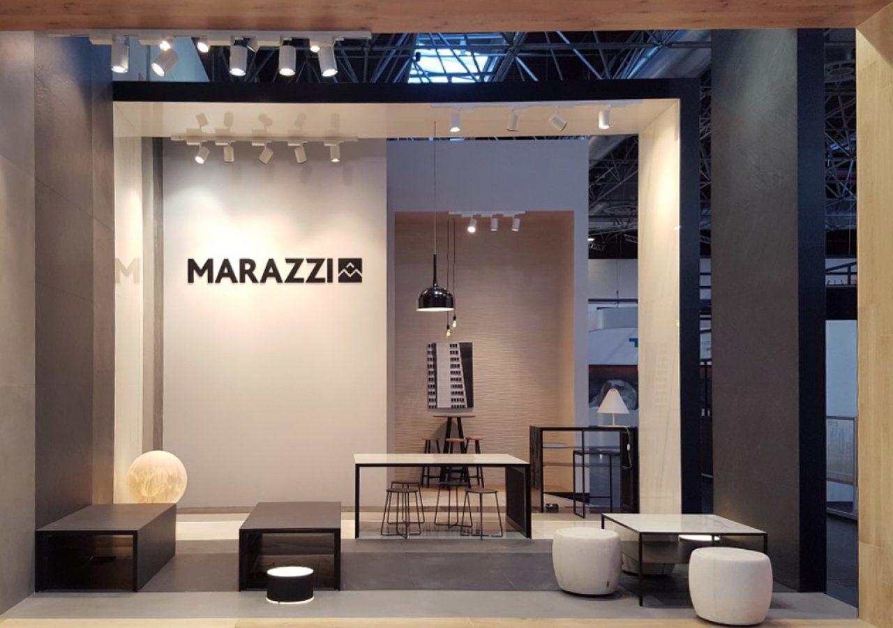 biennale interieur & equipe hotel 2016 / euroshop 2017 per marazzi